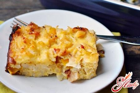 запеканка картофельная