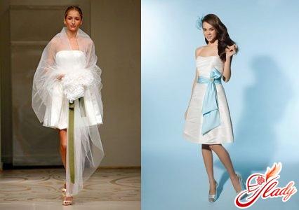 Короткие платья по колено в стиле 50-х годов