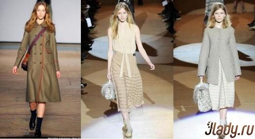 Модные фасоны и цвета