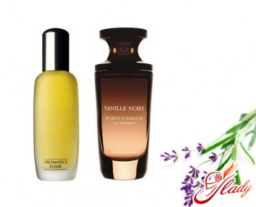 «Aromatics Elixir» от «Clinique» и «Vanille Noire» от «Yves Rocher»