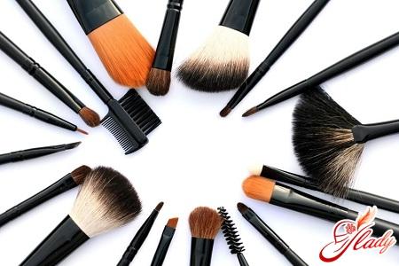 какие кисточки нужны для макияжа