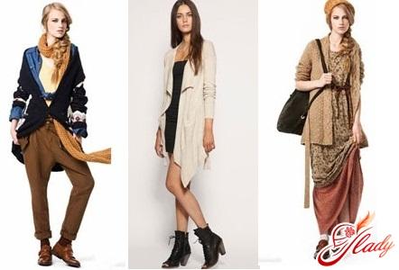 Модный тренд. Кардиганы