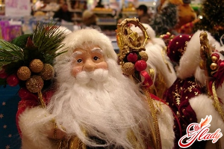 История новогоднего праздника