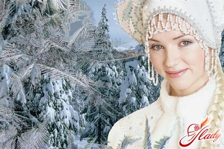 Новогодние персонажи - Снегурочка