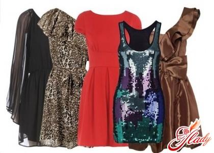 Стильные новогодние платья