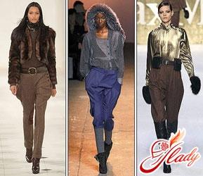 Брючная мода. Самые модные модели 2016