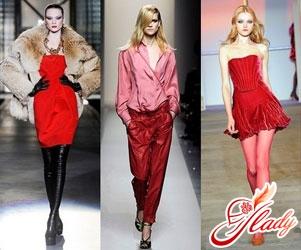 Зима 2011 - актуальные модные цвета