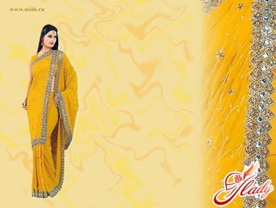 индийская одежда сари