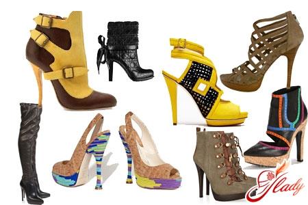 женская обувь весна 2016