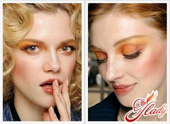красивый зимний макияж