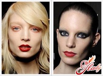 зимний макияж 2016