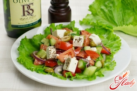 Салат зеленый луг с фото