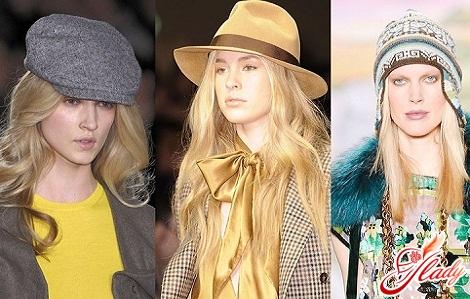 мода шапки 2016