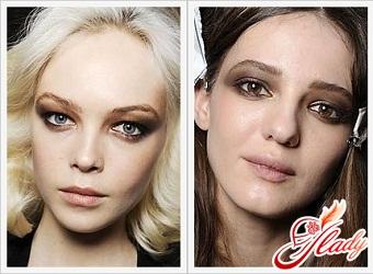 макияж для зимнего типа