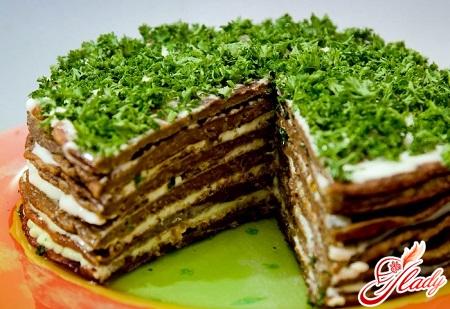 торт из печени рецепты