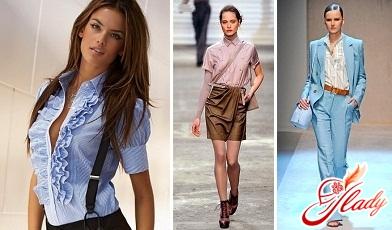 красивые модные блузки 2016 года