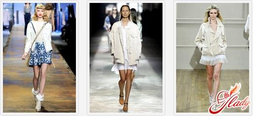 кожаные весенние куртки