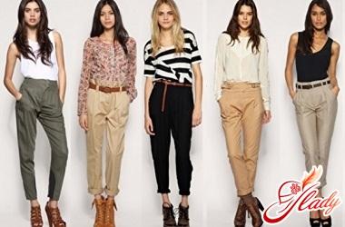 модные брюки 2016 фото
