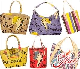 модные сумки весна 2016 с винтажным рисунком