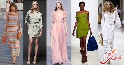 модные фасоны платьев 2016