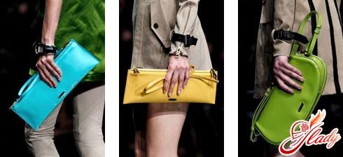 модные женские сумки - клатч
