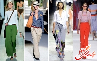 как правильно носить брюки