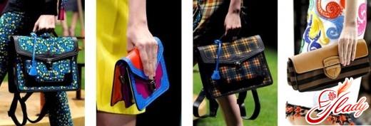 сумки женские 2016 модные тренды - портфели
