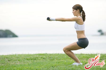 упражнения для ягодиц и ног