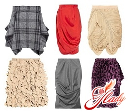 юбки разных фасонов