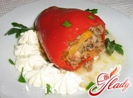 болгарский перец фаршированный