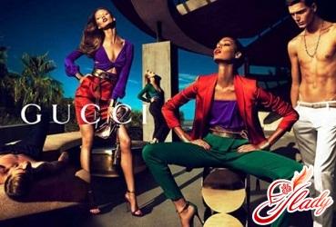 Летняя рекламная кампания Gucci 2011