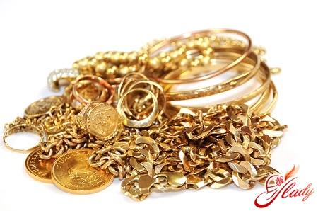 как почистить золото в домашних условиях