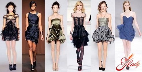 выпускные платья 2016 короткие