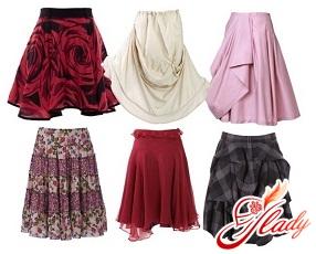 фасоны модных юбок фото