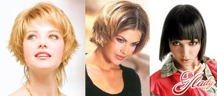 современные модные стрижки на короткие волосы фото
