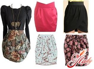 модные фасоны юбок 2011