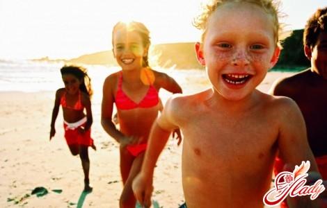 детский отдых летом