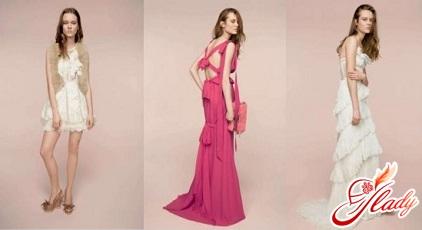 модные вечерние коктейльные платья фото 2011