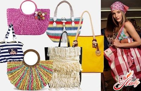 Модные пляжные сумки лето 2011 (фото)
