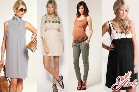 модная одежда для беременных 2016
