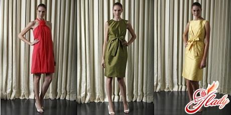 вечерние коктейльные платья 2011 года