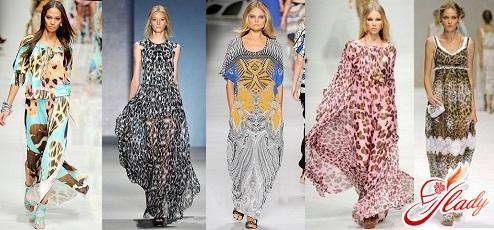модные платья макси 2016