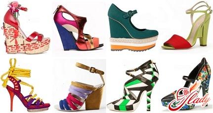 летняя обувь 2016 женская