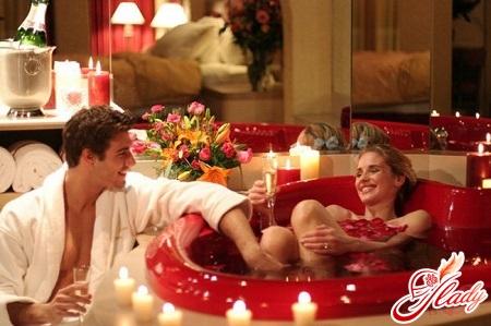 как сделать романтик любимому