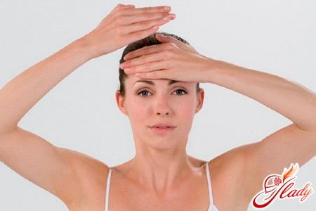 косметический массаж лица техника