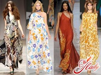 летние платья мода 2016