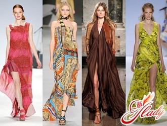 летние платья 2016 мода