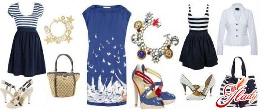 морской стиль в одежде 2011