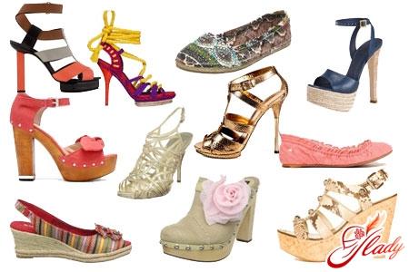 летняя обувь 2016