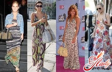 летние макси платья 2016 года